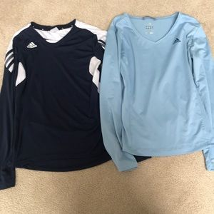 Adidas Long Sleeve Shirts (two!)